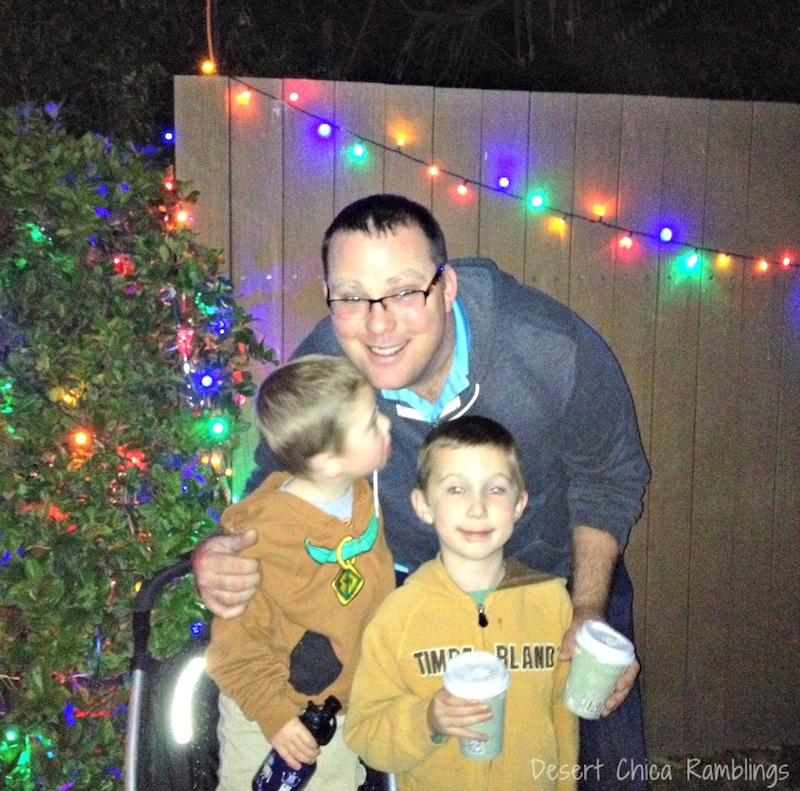 Reid park Zoo lights hot cocoa