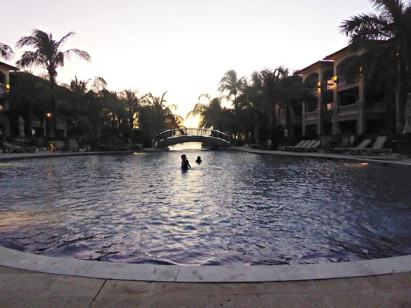 Sunset swim #shop