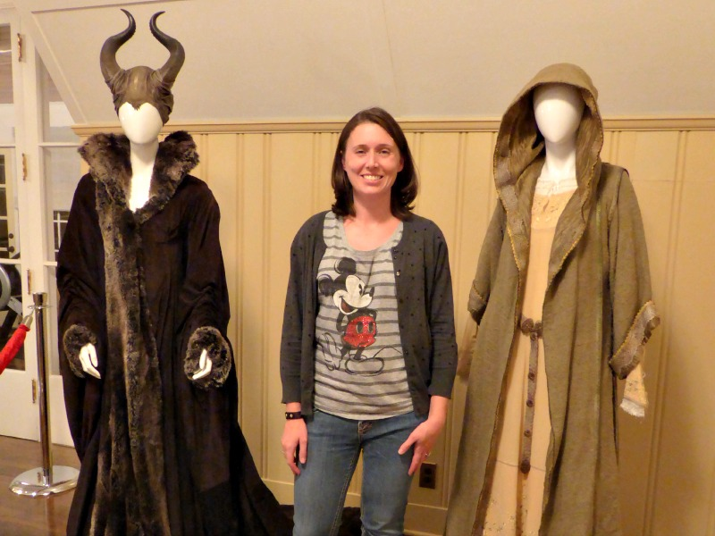 Maleficent costumes at Walt Disney's House