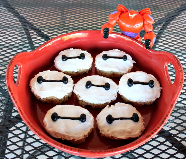 Baymax Rice Krispie Treats