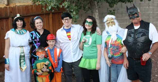 LEGO Movie family costumes: Master Builders