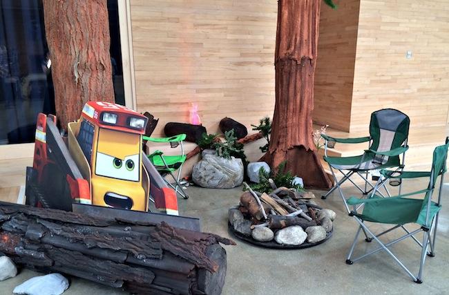 Piston Peak set up in Disneytoon Studios