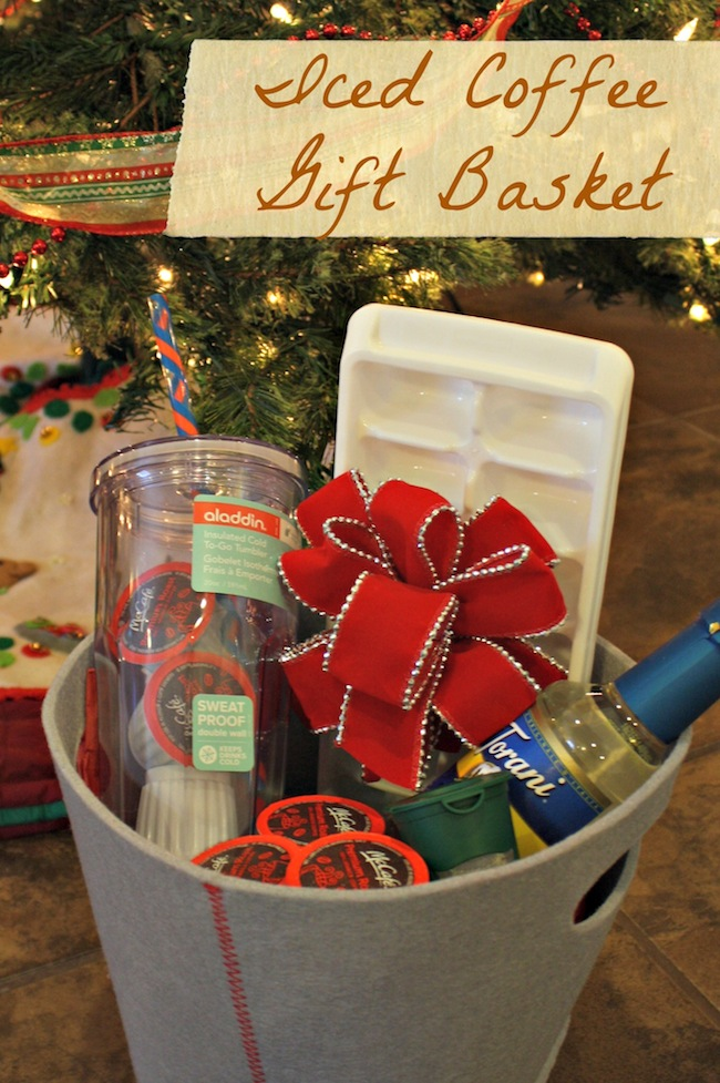 Iced Coffee Gift Basket