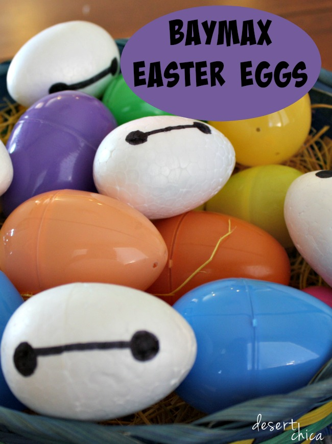 Baymax easter Eggs