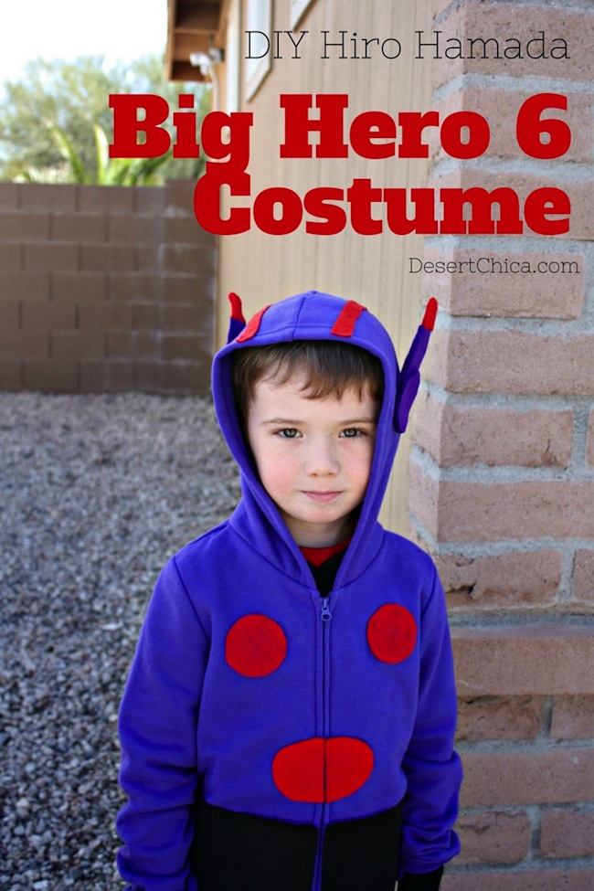 Big Hero 6 Costume DIY Hiro Costume #BigHero6Release