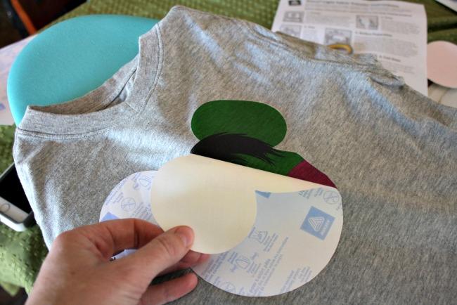 DIY Hulk Shirt Decal