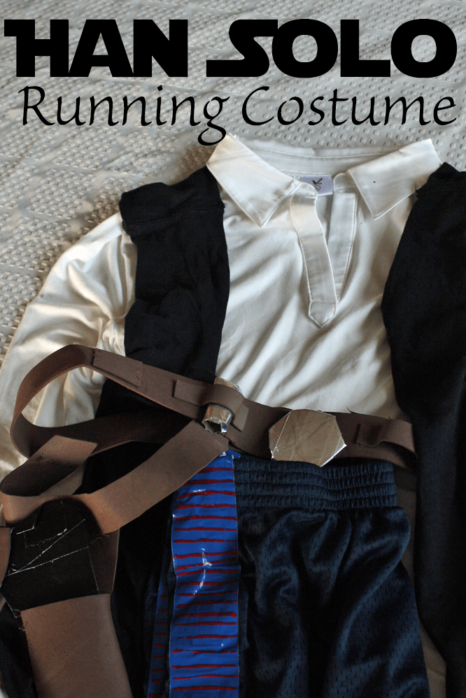DIY Han Solo Running Costume