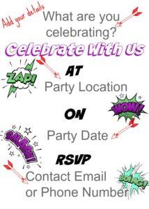 Hulk Birthday Invitation Template Example