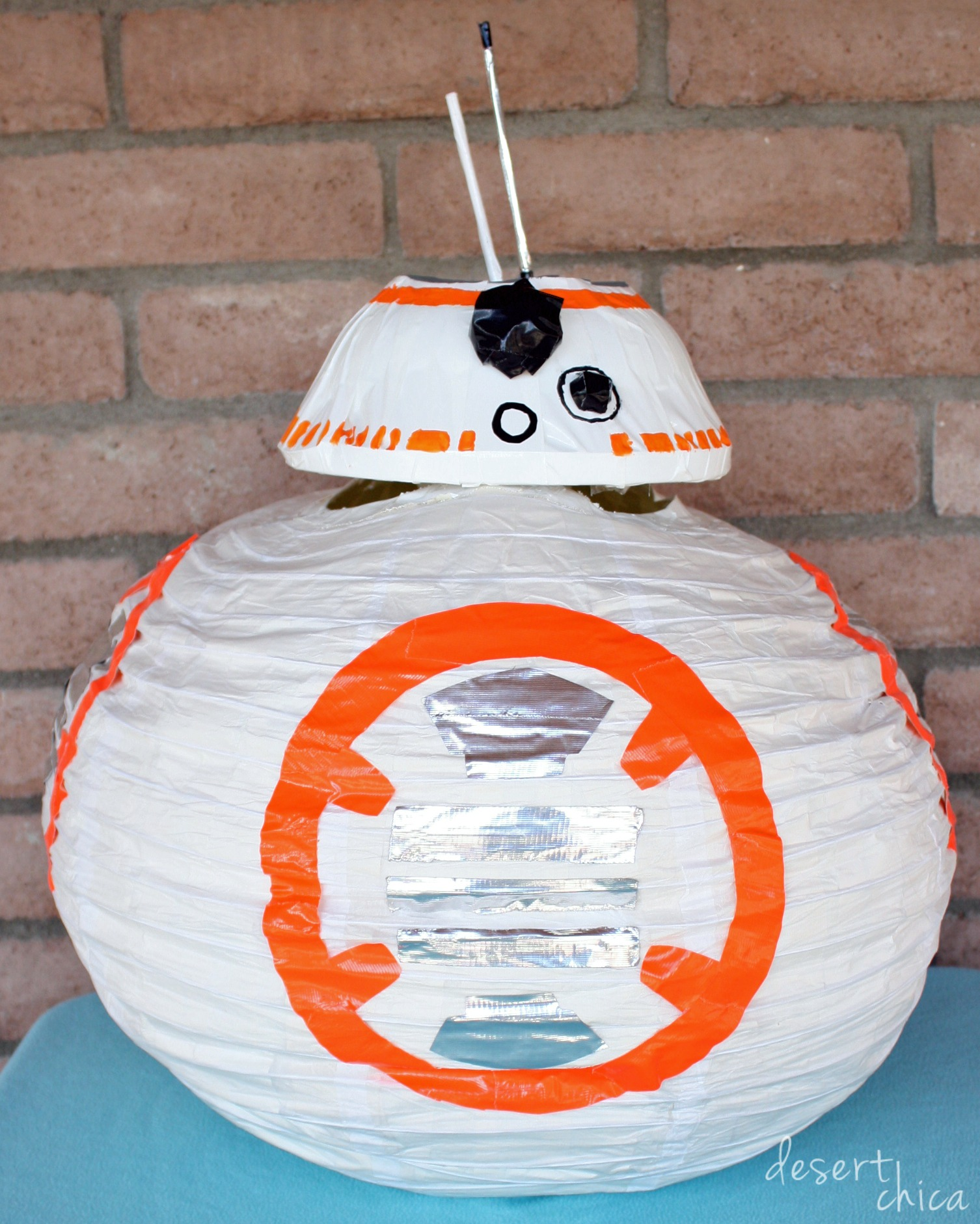 DIY BB8 Costume
