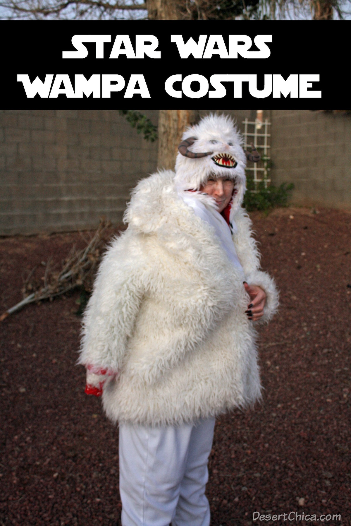 DIY Star Wars Wampa Costume