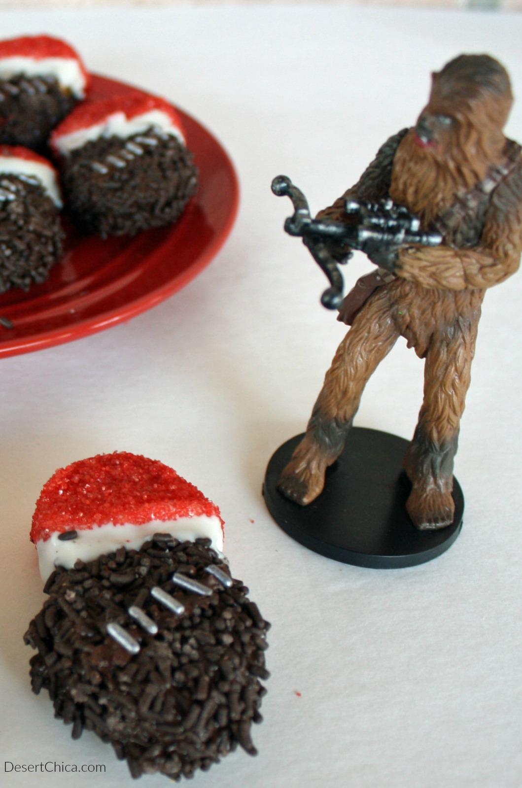 Easy Santa Chewbacca Cookies
