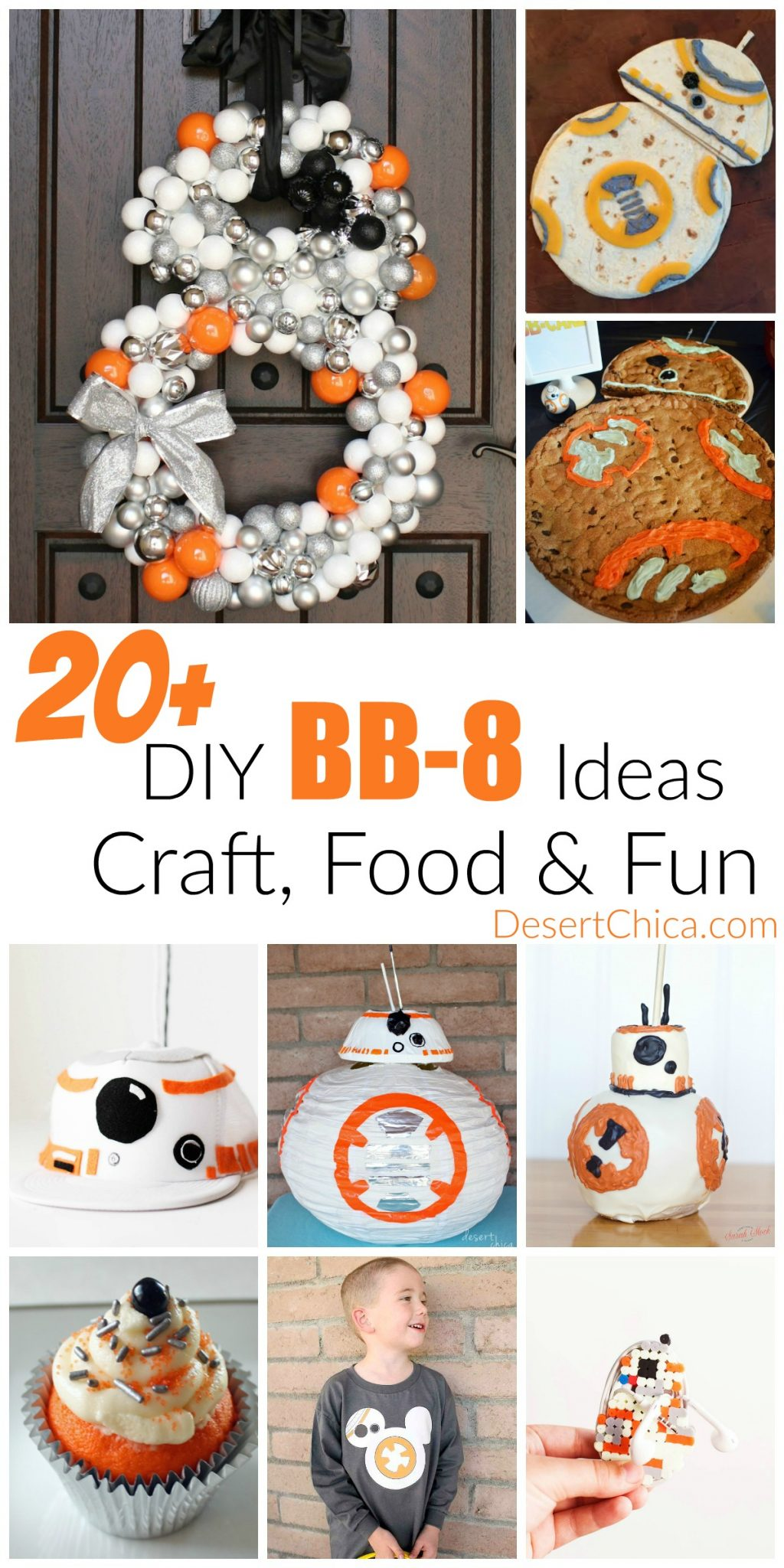 20 bb-8 ideas from food to crafts and fun