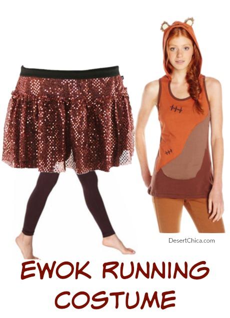 Ewok Running Costume Idea