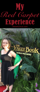 My Red Carpet Experience at the Jungle Book World Premiere