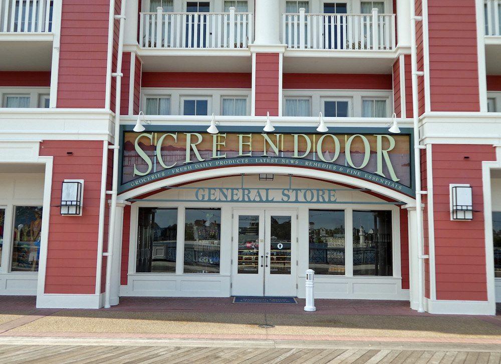 Screen Door General Store Disney's Boardwalk Villas