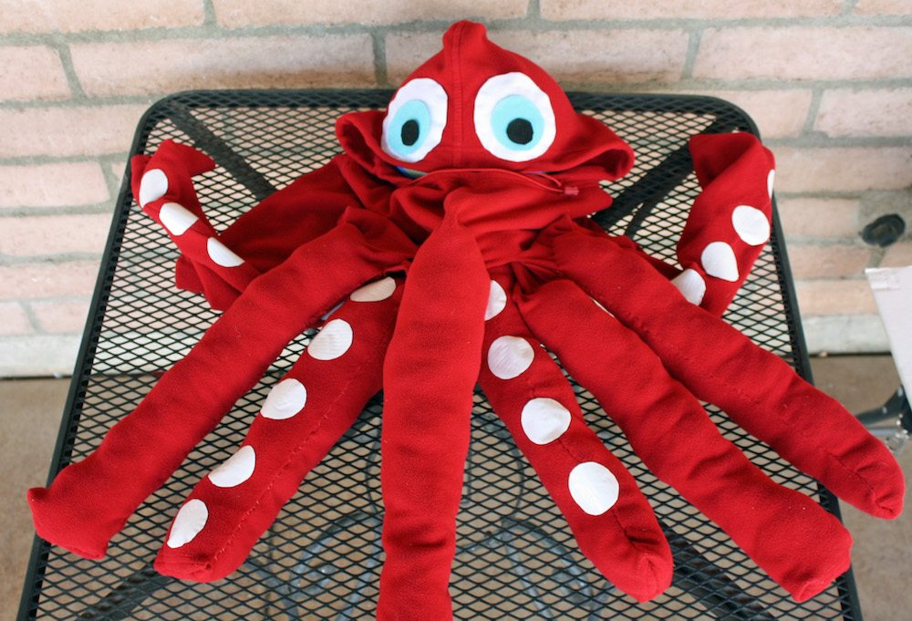 How to make an octopus costume