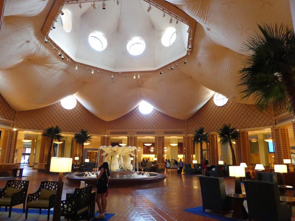 Lobby of Walt Disney World Dolphin Resort