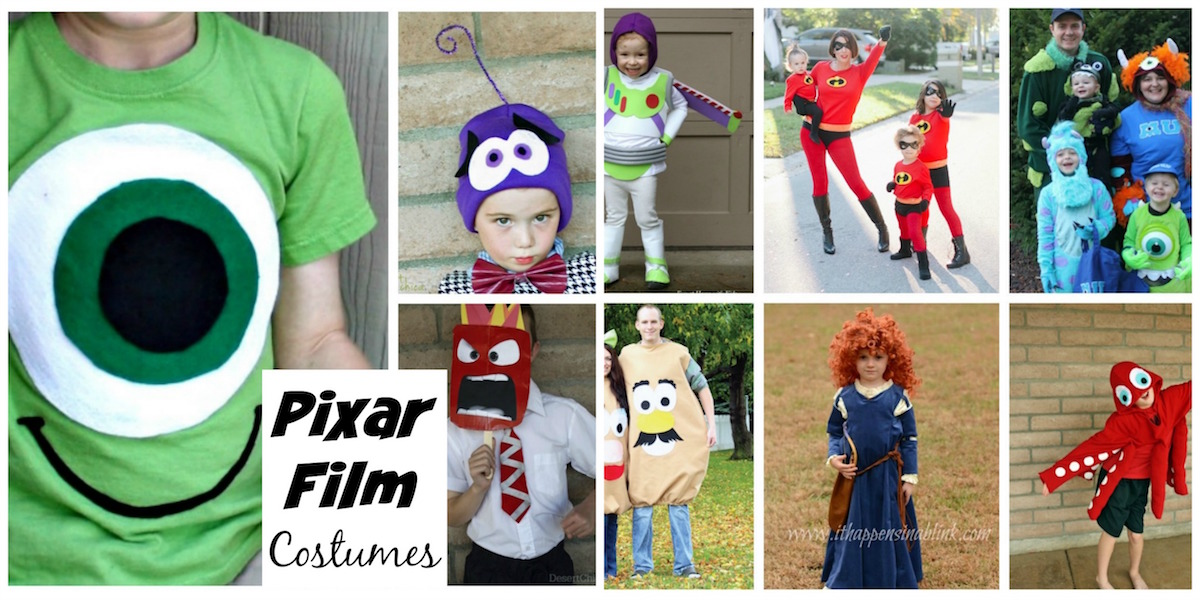 DIY Pixar Film Costumes