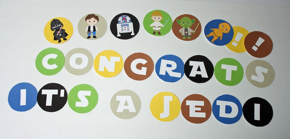 Congrats it's a jedi star wars banner