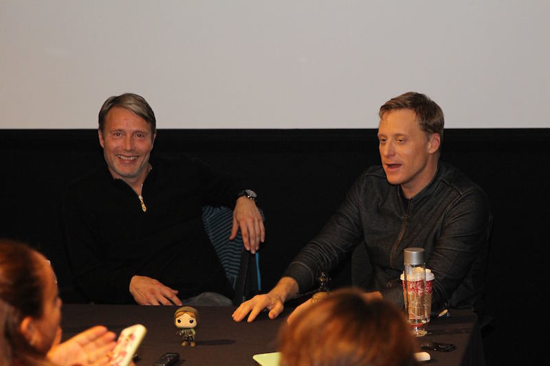 Rogue One Interview with Alan Tudyk & Mads Mikkelsen