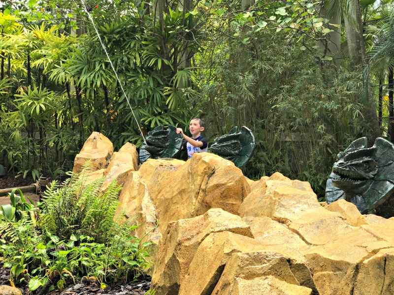 Interactive playgrounds offer some water fun at Universal Orlando