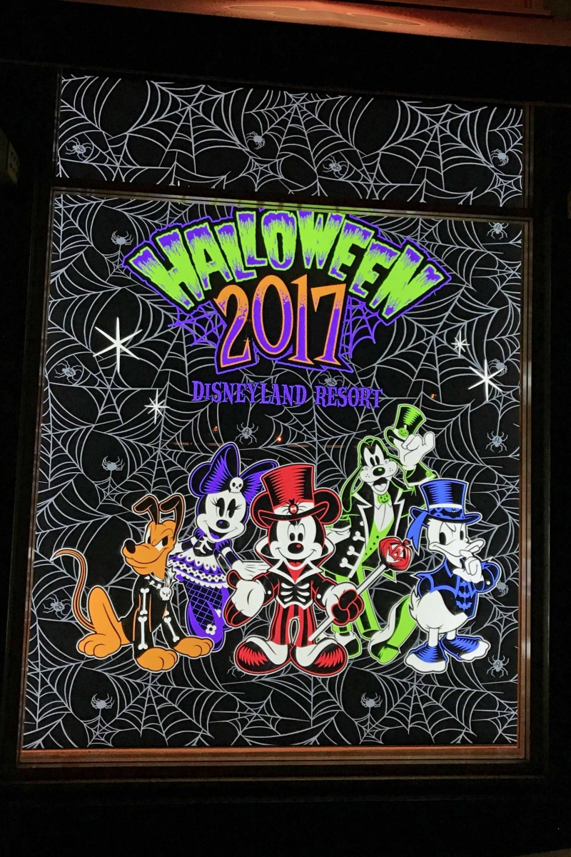 Halloween 2017 at Disneyland Resort