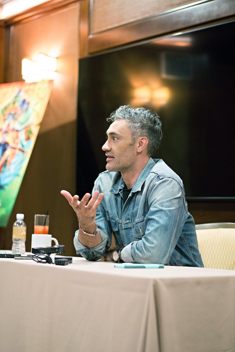 Taika Waititi talks about what it's like to be a director on a Marvel movie, how perfect Immigrant song is for Thor: Ragnarok and his character, Korg.