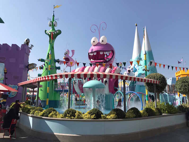 4 Reasons Universal Studio s Hollywood Is Better Than Universal Orlando - Super Silly Fun Land featuring minions at Universal Studios Hollywood