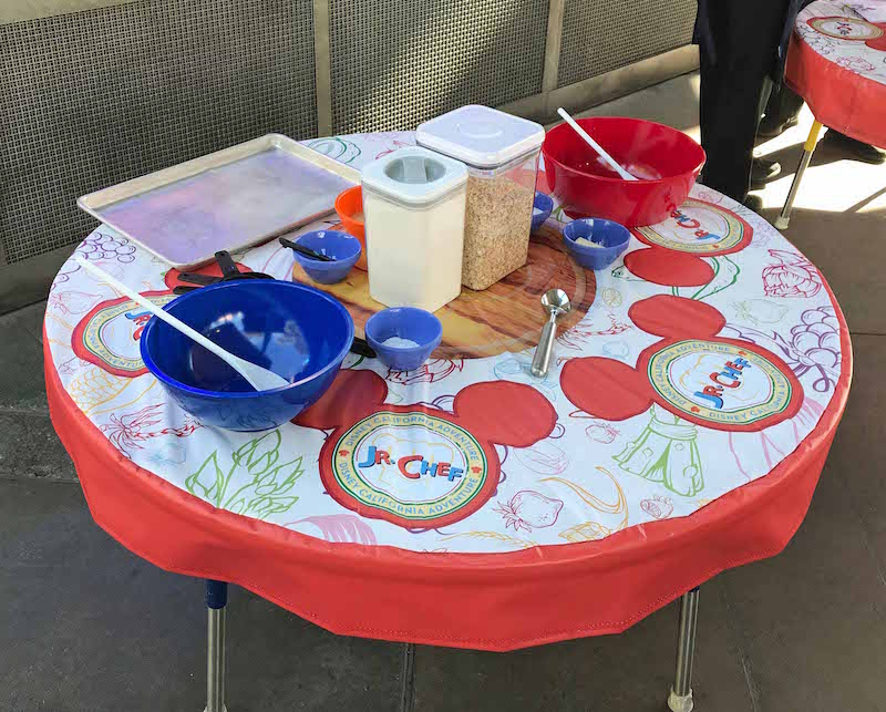 Jr Chef tables at Disney Food and Wine Festival