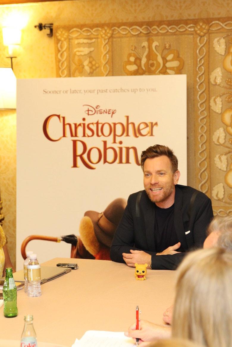 Ewan McGregor Interview for Christopher Robin