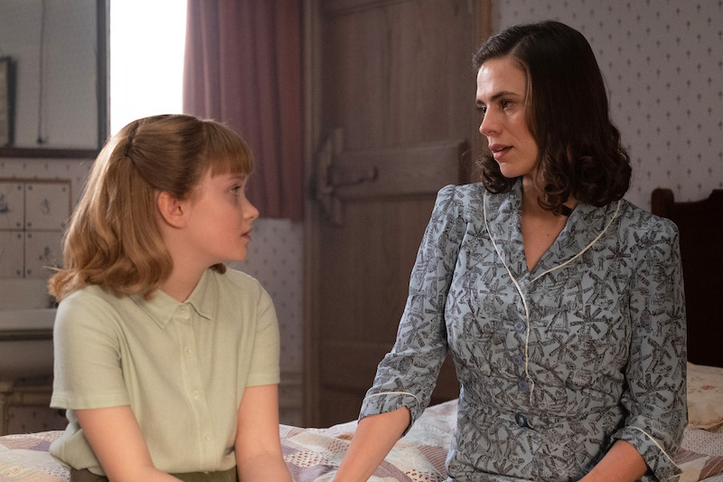 Hayley Atwell is Evelyn Robin and Bronte Carmichael is Madeline Robin in Disney's live-action adventure CHRISTOPHER ROBIN.