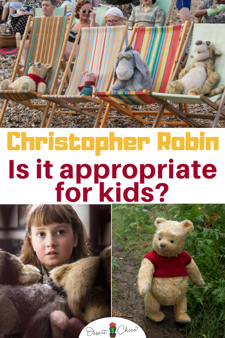 Is Christopher Robin appropriate for kids? There are a few things to consider even though it's rated PG.