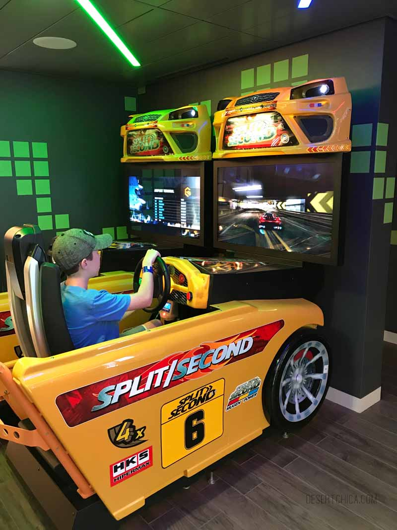 There are two arcades on Royal Caribbean Symphony of the Seas cruise ship. It is one of the amazing tween friendly activities aboard the largest cruise ship in the world.
