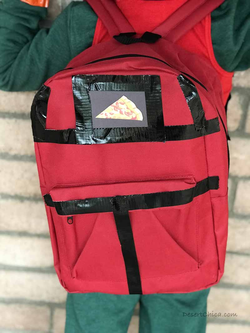 Tomato Head Fortnite Costume Pizza Bag Backpack