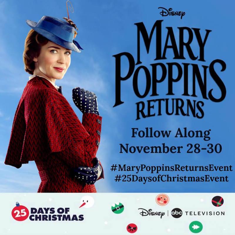 Mary Poppins Returns Press Trip
