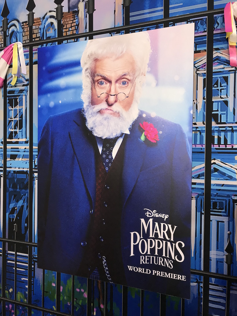 Dick Van Dyke in Mary Poppins Returns Red Carpet
