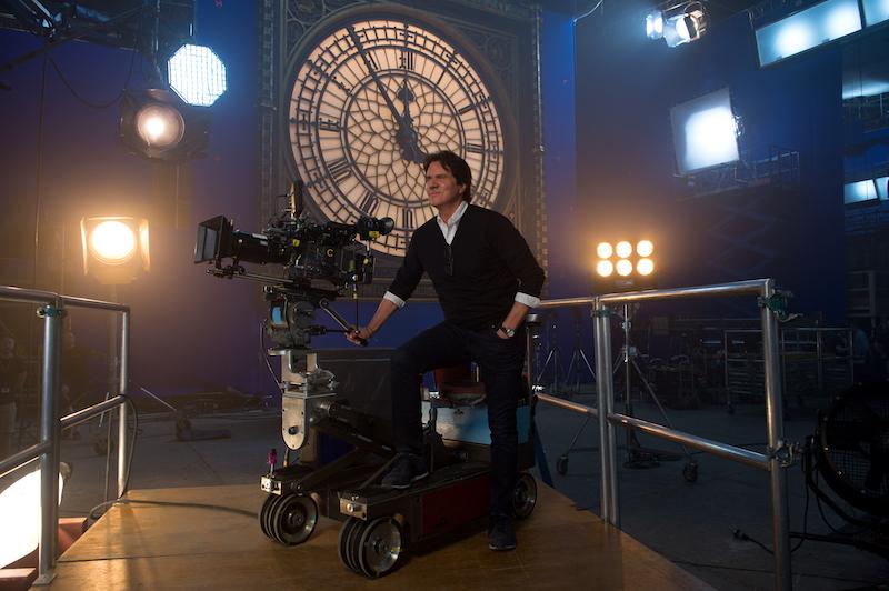 Director Rob Marshall on Mary Poppins Returns set