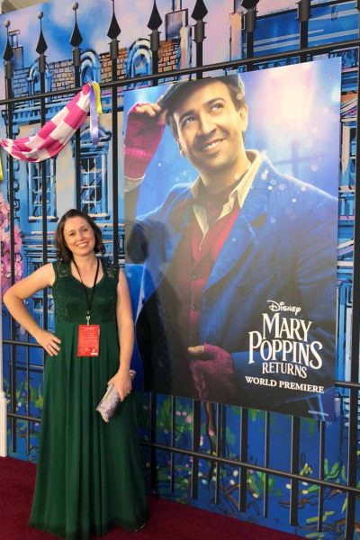 Walking the Mary Poppins Returns Red Carpet with Lin Manuel Miranda!