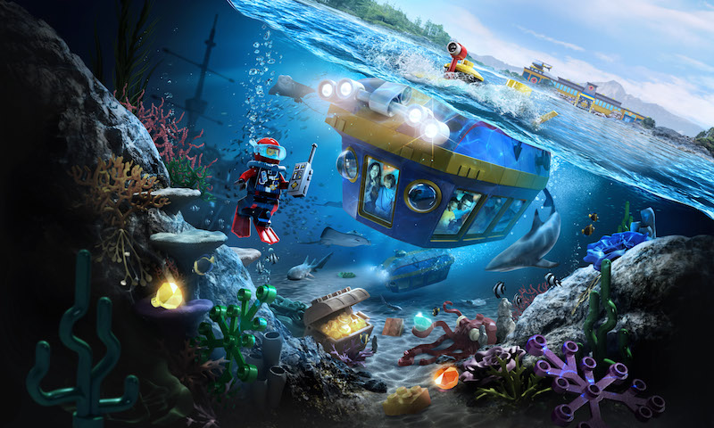 LEGOLAND Lego City Deep Sea Adventure submarine ride