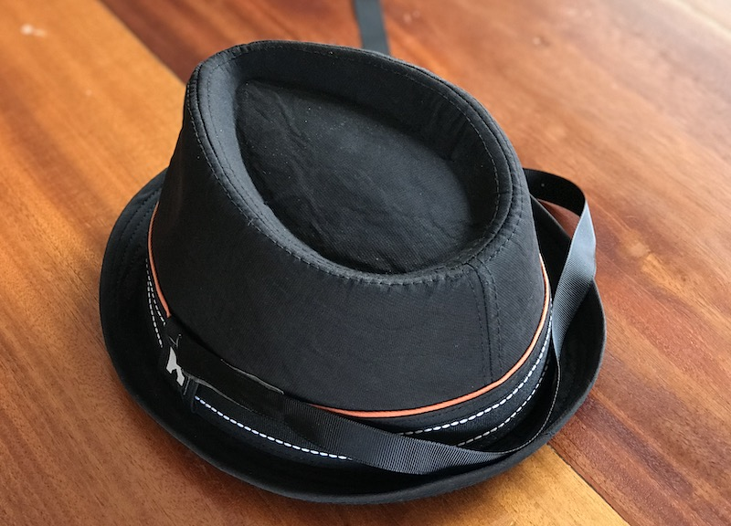 Black fedora for Spider-man Noir costume
