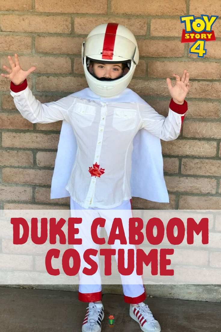 Child dressed at Duke Caboom