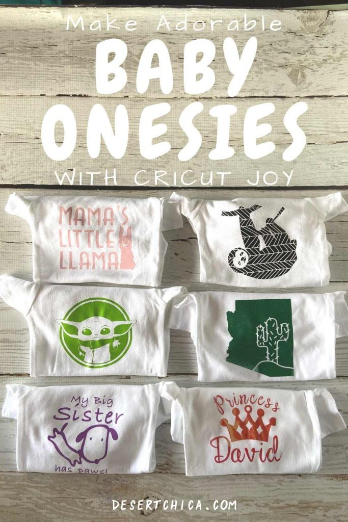 baby onesies with cute iron on designs