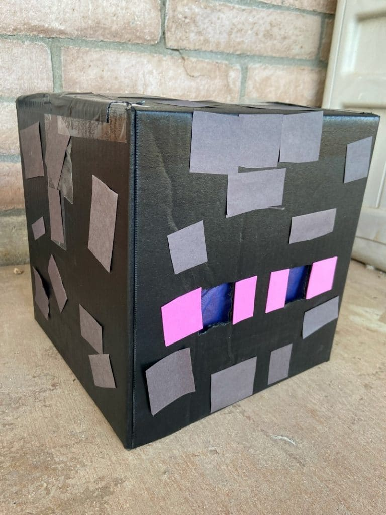 Minecraft Enderman Head