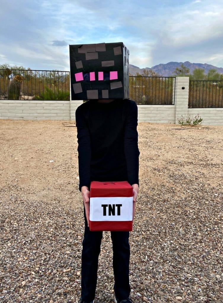 Minecraft Enderman Costume