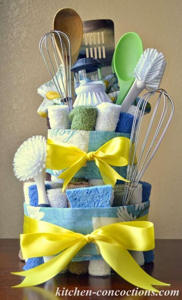 Make Diaper Cake Baby Shower