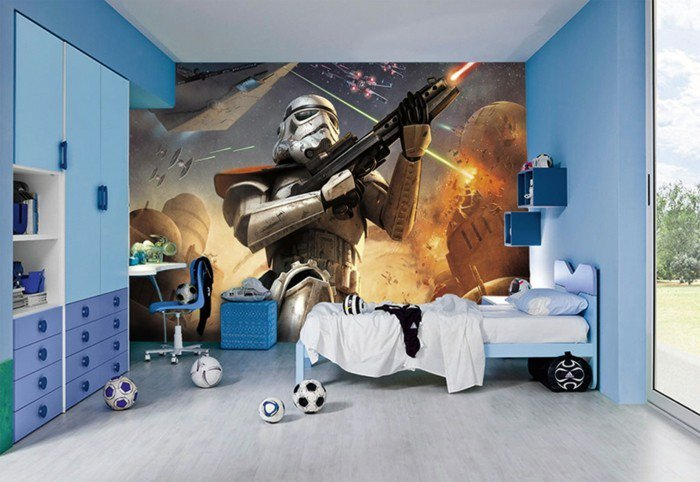 Star Wars Wall Stickers Bedrooms