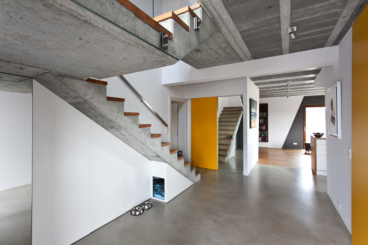 Cool Gray Meets Happy Yellow in This Angular Interior   Design Milk Cool Gray Meets Happy Yellow in This Angular Interior