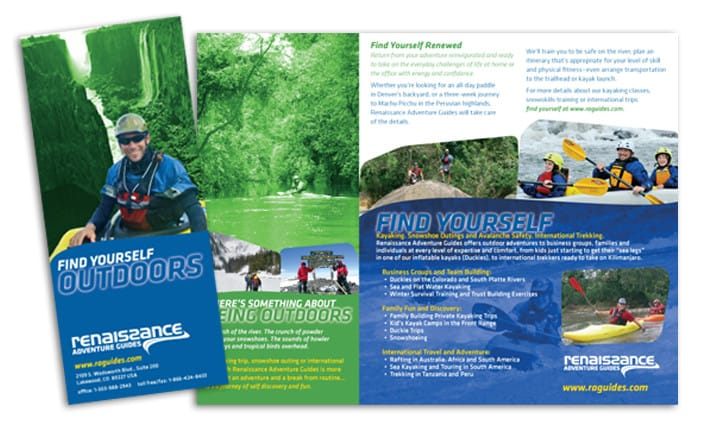 Brochure Design - Adventure Travel