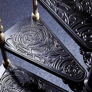 Cast Iron Stairs – Scary Or Pretty   Cast Iron Spiral Staircase   Modern   Traditional   Stair Case   Kitchen   Railing