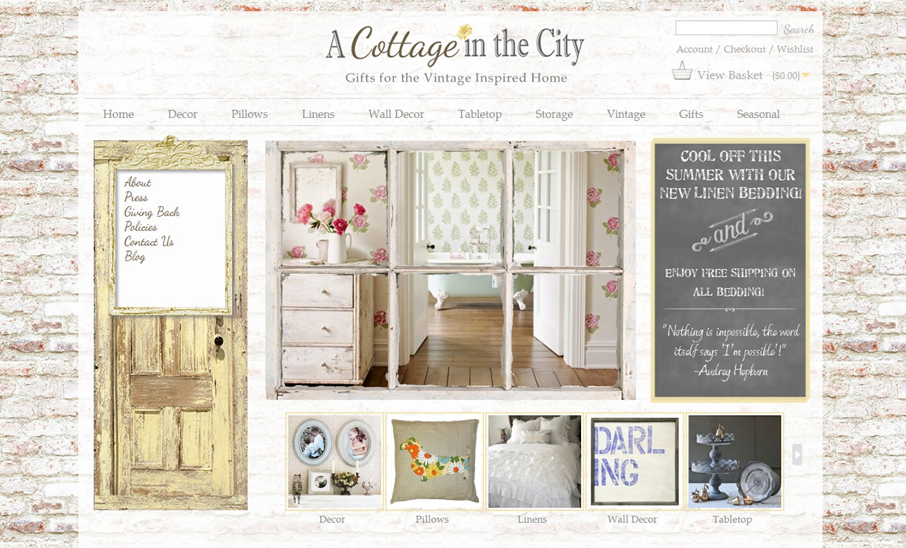 Vintage Home Decor Websites